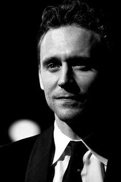Tom Hiddleston. Stop it, you handsome devil.