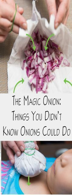 Onions are a natural cure for many health problems. It is the best remedy for severe vomiting and as a general antibiotic that can boost your immune system.