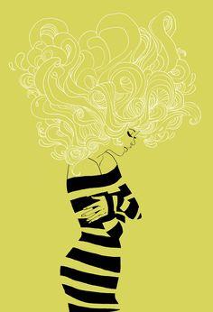 Marguerite Sauvage illustration