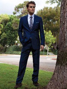 Paul Wesley in August Man, January 2013: #3