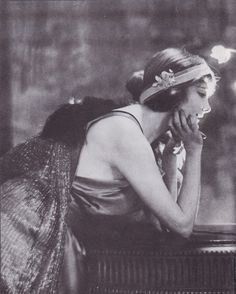 U.S. Jeanna Eagles, 1900s //  Adolf De Meyer  | Jeanne Eagels (1890 – 1929) was an American actress on Broadway and in several motion pictures. She was a former Ziegfeld Follies Girl who went on to greater fame on Broadway. She was posthumously considered for the Academy Award for Best Actress for her 1929 role in The Letter after dying suddenly that year at the age of 39. That nomination was the first posthumous Oscar consideration for any actor, male or female.