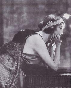 Jeanne Eagels by Adolf De Meyer 1900s