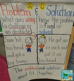 This simple, yet effective Problem and Solution Anchor Chart will help your students understand this concept in a fun and meaningful way! Check out this post to learn some effective ways to teach this concept.