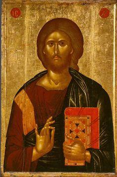 Christ the Saviour Byzantine Icons, Byzantine Art, Christ Pantocrator, Christian Stories, Russian Icons, Jesus Art, Best Icons, Catholic Art, Orthodox Icons