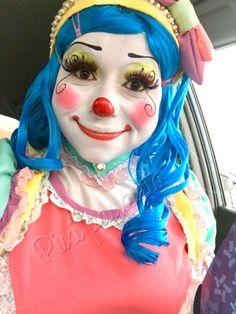 Clown Pics, Cute Clown, Female Clown, Clowning Around, Girls Makeup, Clowns, Photoshop, Princess Zelda, Brass
