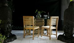 Dining room set. Jungle series.