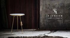 Richarm Table 01   Monopoly M X Koncept205  marble / metal table #furniture #design #marble #marbletable #metal #sidetable www.richarmgroup.com