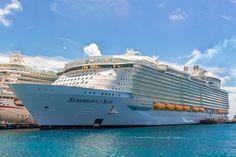 Royal Caribbean Ships, Caribbean Cruise, Symphony Of The Seas, Royal Caribbean International, Nature Sounds, Water Slides, Sea World, Sailing, Boat