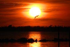Romantic Setting Sun Photography Beautiful 8x10 by HeavenlyWings, $25.00
