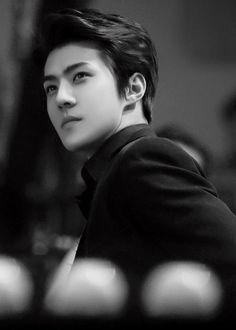 Sehun ~ My my my just. appreciate his eyebrows 2ne1, Chanyeol, K Pop, Rapper, Btob, Exo Korean, Hunhan, Exo Members, Pretty Boys