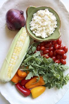 This is one of my favorite summer salads.  With sweet corn coming into season and tomatoes and ...