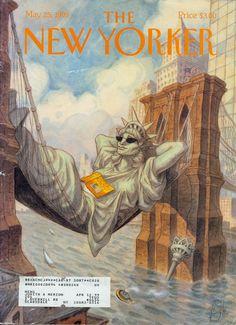 the new yorker | The New Yorker magazine | i-Portfolio de Sophie Garreau