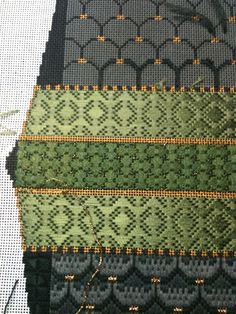 Steph's Stitching: Feeling green