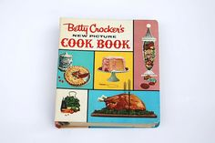 Betty Crocker New Picture Cookbook Edition, Betty Crocker Cookbook, Mothers Day Gift For Chef Mom, 1961 Cook Book