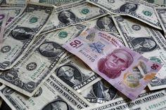 El peso escala por arriba del yen y del euro - Expansión MX
