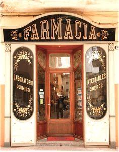 Quaint shops & cafes shop windows, front windows, storefront signage, t