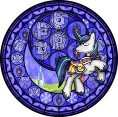 shining_armor_stained_glass__vector__by_