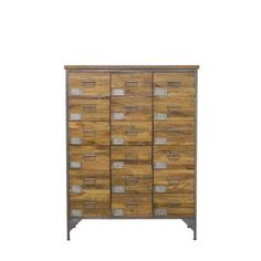 Tallboy Apothecary Style Industrial Chest of Drawers Chest Of Drawers Sale, Tall Drawers, Furniture Care, Office Furniture, Furniture Design, Rustic Wood Furniture, Vintage Furniture, Cool Office Desk, Industrial Chair