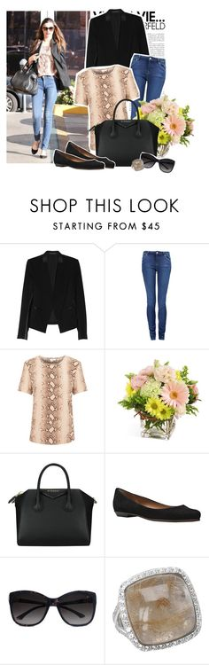 """Miranda Kerr Style"" by ashleypetrova ❤ liked on Polyvore featuring Kerr®, Theory, Paul by Paul Smith, Equipment, Givenchy, GUESS by Marciano and DeLatori"