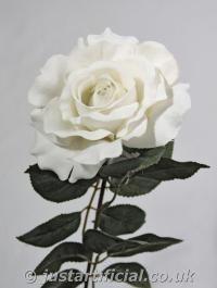 Artificial Silk Premium Rose Single Stem