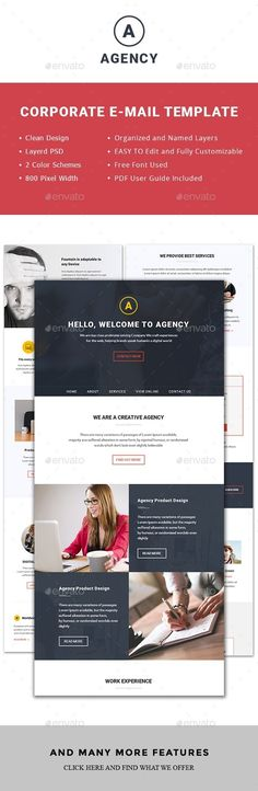 Multipurpose Agency Email Template PSD. Download here: http://graphicriver.net/item/multipurpose-agencyemail-template/15376914?ref=ksioks