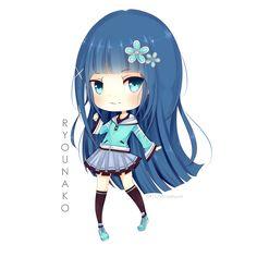 Commission : Ryounako by ChocoaItsumi.deviantart.com on @deviantART