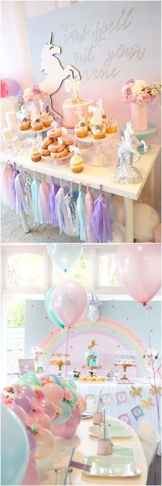 Bridal Shower » 23    Unicorn Bridal Shower Party Ideas »   ❤️    See more:     http://www.weddinginclude.com/2017/07/unicorn-bridal-shower-party-ideas/