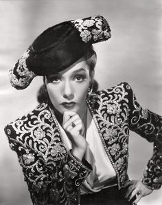 "Lupe Velez. A Beautiful Mexican Actress in Hollywood who had a successful career - Lupe, ""The Mexican SpitFire."""