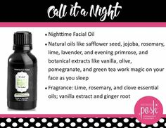 Call It a Night Nighttime Facial Oil $18