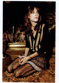 Vogue Italia Editorial Alexa Chung, June 2011 Shot #9
