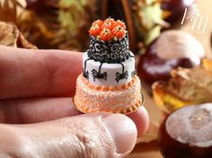 Miniature Fall Cake♡ ♡ By París Miniature