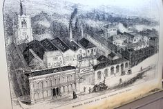 Our shop in Norwich is based in Crystal House, a beautiful Grade 2 listed building. Here is an old drawing of Cattle Market Street when Crystal House was Holmes and Sons Prospect Place Works.