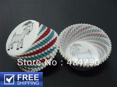 /lot Chinese Zodiac Sheep Paper Cupcake Liners Wholesale Unique ...