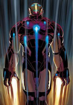 Iron Man by John Romita Jr