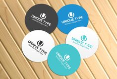 Check out Unique Type Style Logo by BDThemes Ltd on Creative Market