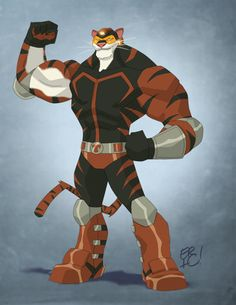 Titanium Tiger Commission by *EricGuzman on deviantART