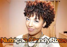Tutorial Nutriçao Cabelos Crespo, Afro e Cacheado CinndyRizos