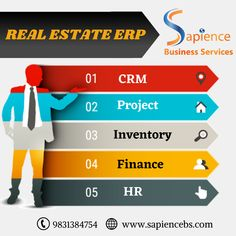 Sapience Business Services is engaged in development and implementation of ERP software for Real Estate Companies and construction companies for the last 8 years. For more details, please visit www.sapiencebs.com or call us at +91-9831384754 #erpsoftwareforrealestate #erpsoftwareforconstructionindustry #realestateerpinindia #erpsoftwareforrealestateindustry #realestateerpinkolkata #constructionerp #ERPforconstructionindustry Construction Companies, Website Design Company, Real Estate Companies, Software Development, Digital Marketing, Finance, Business, Web Design Company, Store