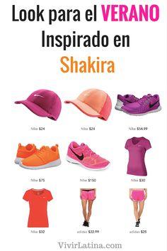 Inspírate AQUI! Mira cuál fue el look que compartio Shakira para recibir el verano.
