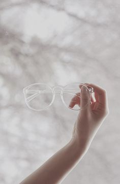 #transparent #plastic #glasses