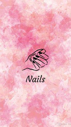 Flower Background Wallpaper, Cute Wallpaper Backgrounds, Background Pictures, Cute Wallpapers, Pink Instagram, Instagram Nails, Instagram Logo, Instagram Symbols, Nail Salon Design