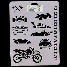 Cool Wheels Stencil | Shop Hobby Lobby.  Looks like a potential sons of anarchy projest