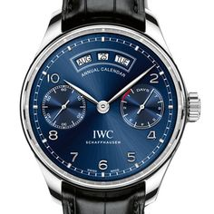 IWC Portugaise Calendrier Annuel - Iconic Watches.