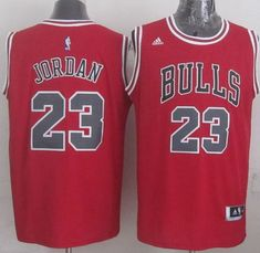 Chicago Bulls Jersey 23 Michael Jordan Revolution 30 Swingman 2014 New Red  Jerseys b71c311d72f