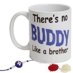 Best Buddy Brother  International - Rakhi To Dubai
