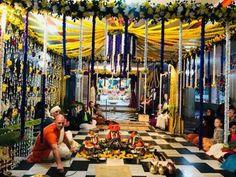 Beautiful wedding at Jagannath Mandir (23 photos and 4 videos) Srila Prabhupada: Krishna is joyful. I am part and parcel of Kri...