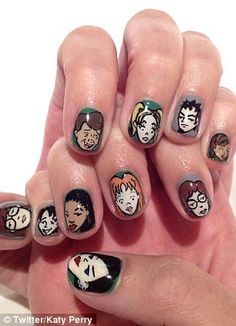 12413c92e26e It doesn t get better than hand painted Daria nails