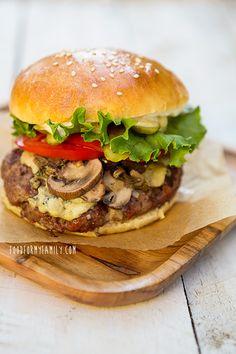 How to Build a Better Burger - from @Shaina Pagani Pagani Olmanson | Food for My Family