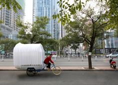China, PAO, PIDO, People's Architecture Office, Tricycle House, Tricycle Garden, portable dwelling, off grid living, CNC router, polypropylene, tiny house, green design, sustainable design, eco-design