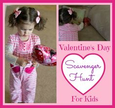 Valentine's Day Scavenger Hunt from Love, Play, Learn